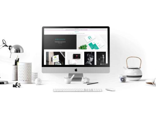 Mockup der alten Webseite auf Wix.com